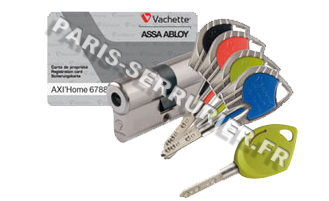 Cylindre Vachette Axi Home Axi Duo