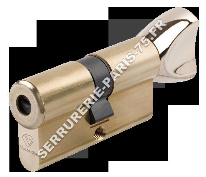 Cylindre Vachette Européen Axi Home à bouton