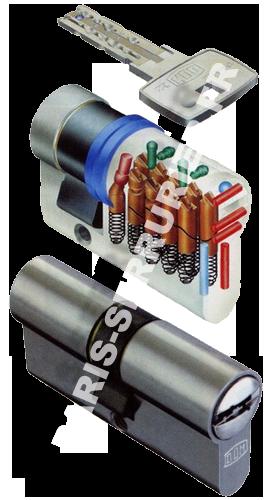 Cylindre Dom européen système IX 10