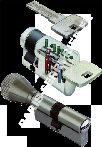 Cylindre Dom européen système IX 6