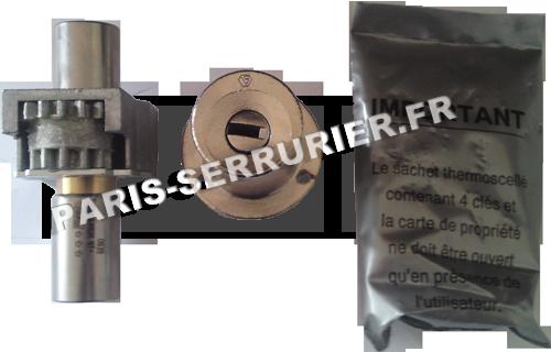 Module Vachette Radial NT+ - Cylindre 45 mm